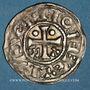 Coins Champagne. Comté de Provins et Sens (XIe siècle). Denier au peigne