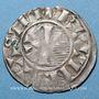 Coins Champagne. Comté de Provins. Henri I (1150-1180). Denier au peigne