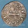 Coins Champagne. Comté de Provins. Henri II (1180-1197). Denier au peigne