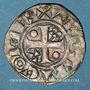 Coins Champagne. Comté de Provins. Thibaut II (1125-1152). Denier au peigne