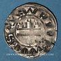 Coins Champagne. Comté de Provins. Thibaut IV (1201-1253). Denier au peigne