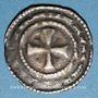 Coins Champagne. Comté de Sens (11e siècle). Denier