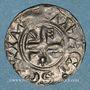 Coins Champagne. Comté de Troyes. Henri I (1152-1180). Denier