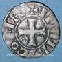 Coins Champagne. Comté de Troyes. Henri II, comte de Champagne (1180-1197). Denier