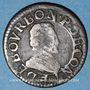 Coins Champagne. Principauté de Château-Renaud. François de Bourbon Conti (1605-14). Double tournois