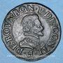 Coins Champagne. Principauté de Château-Renaud. François de Bourbon Conti (1605-1614). Double tournois