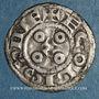 Coins Comté d'Angoulême. Monnayage anonyme au nom de Louis (12e siècle). Obole