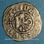 Coins Comté d'Anjou. Foulques IV (1069-1109) ou Foulques V (1109-1129). Denier