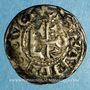 Coins Comté d'Anjou. Foulques V (1109-1129). Denier immobilisé