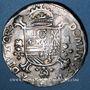 Coins Comté d'Artois. Philippe II d'Espagne (1555-1598). 1/2 écu philippe 1586, Arras