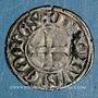 Coins Comté de la Marche. Charles de France (1315-1322). Denier tournois