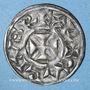 Coins Comté de Poitou. Monnayage anonyme (12e siècle). Obole. Melle