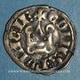 Coins Comté de Provence. Charles II d'Anjou (1285-1309). Denier tournois