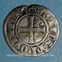 Coins Comté de Provence. Charles II d'Anjou (1285-1309). Double denier coronat