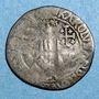 Coins Comté de Provence. Charles III d'Anjou (1480-1481). Demi-gros, Tarascon