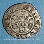 Coins Comté de Provence. Robert d'Anjou (1309-1343). Denier coronat reforciat