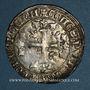 Coins Comté de Provence. Robert d'Anjou (1309-1343). Gillat ou robert d'argent