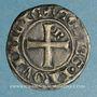 Coins Comté de Provence. Robert d'Anjou (1309-43). Denier coronat reforciat