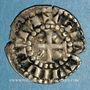 Coins Comté du Mans. Charles I, roi de Sicile ou Charles II (1246-1285-1290). Denier