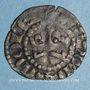 Coins Comté du Mans. Charles III (1290-1317). Denier
