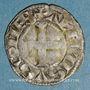 Coins Comté du Poitou. Alphonse de France (1241-1271). Denier.