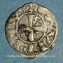 Coins Comté du Roussillon. Gausfred III (1115-1164). Obole