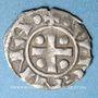 Coins Dauphiné. Archevêché de Vienne. Monnayage anonyme (vers 1150-1200). Obole
