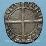 Coins Dauphiné. Charles I (1364-1380), dauphin et roi de France. Liard dentillé. Point 2e, Romans