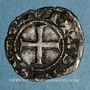 Coins Dauphiné. Evêché de Die. Denier anonyme, XIIIe siècle