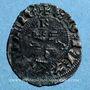 Coins Duché d'Aquitaine. Edouard III (1327-1362). Denier, Bordeaux (?)