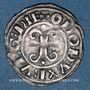 Coins Duché de Bourgogne. Eudes II (1143-1162). Denier. Dijon