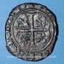 Coins Duché de Bourgogne. Jean sans Peur (1404-1419). Grand blanc. Saint-Laurent, à partir de 1418