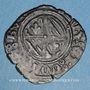 Coins Duché de Bourgogne. Philippe le Bon (1419-1467). Double tournois. Auxonne(?)