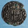 Coins Duché de France. Comté de Dreux. Hugues Bardoul (1035-1055). Denier