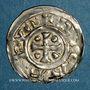 Coins Duché de Normandie. Richard I (942-996). Denier. Rouen