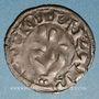 Coins Franche Comté. Archevêché de Besançon - Monnayage anonyme (13e -14e s). Denier estevenant, 11e type