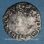 Coins Franche Comté. Comté de Bourgogne. Philippe II (1556-1598). Blanc (= 1/2 carolus) 1561. Dôle