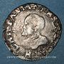 Coins Franche Comté. Comté de Bourgogne. Philippe II (1556-1598). Carolus 1589. Dôle. Variante inédite !