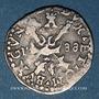Coins Franche Comté. Comté de Bourgogne. Philippe II (1556-1598). Gros 1588. Dôle