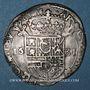 Coins Franche-Comté. Comté de Bourgogne. Philippe IV (1621-1665). 1/2 teston 1631/0, Dôle