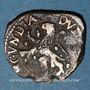 Coins Franche Comté. Comté de Bourgogne. Philippe IV (1621-1665). Double denier. Dôle