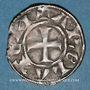 Coins Languedoc. Archevêché d'Arles. Monnayage anonyme (vers 1200-1240). Denier