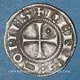 Coins Languedoc. Comté de Rodez. Henri II (1274-1302). Denier