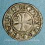 Coins Languedoc. Evêché de Cahors. Monnayage anonyme. Denier