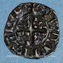 Coins Limousin. Vicomté de Limoges. Jean III (1312-1314). Denier