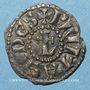 Coins Lyonnais. Archevêché de Lyon. Monnayage anonyme (vers 1150-1200). Denier au L barré