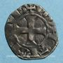 Coins Orléanais. Comté de Chartres. Charles de Valois (1293-1325). Denier