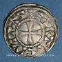 Coins Orléanais. Comté de Chartres. Eudes I ou Thibaut II (975-1004). Denier de type bléso-chartrain
