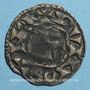 Coins Orléanais. Vicomté de Châteaudun. Denier anonyme (vers 1160-1180)
