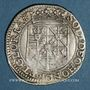 Coins Principauté d'Orange. Frédéric Henri de Nassau (1625-1647). Teston, type V.B.3